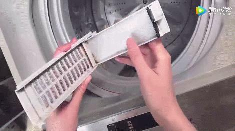 用了這麼多年才知道,洗衣機藏著汙垢開關,難怪衣服越洗越髒~