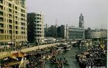 1945年上海珍貴彩色老照片,帶你走進抗戰勝利的社會生活場景