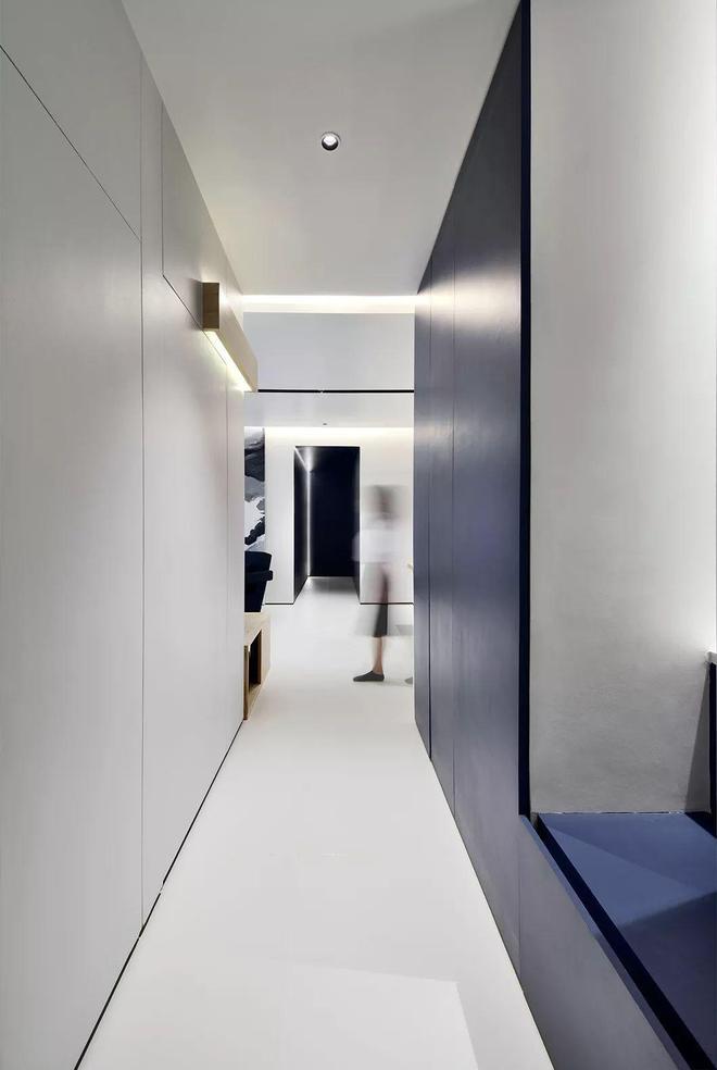 126平簡約風三居室,簡單幹淨的搭配,一個輕鬆又時尚的家~