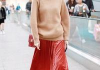 想做個有氣質的時髦精,請相信駝色毛衣的魅力,又美又吸睛!