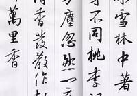 王羲之集字古詩,真的很美