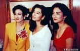 明星當年合影:張國榮、林青霞、王祖賢,關之琳、周星馳、邱淑貞