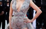 LA娛樂|法國影星弗雷德裡克·貝爾,出席戛納電影節某電影紅毯