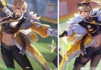 王者榮耀玩家爆料,官方可能把黑絲加入到星元皮膚,如果這樣你還會入手這款皮膚嗎?