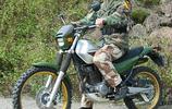 軍用摩托車-川崎KL-250越野摩托車