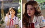 越南眾多高顏值網紅被質疑整容紛紛晒出童年照片,網友:鼻子假的