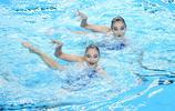 花樣游泳——全國冠軍賽:雙人自由自選賽況