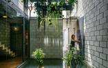 住宅設計:一個有室內庭院的兩層小住宅,讓你感受中庭庭院的美