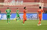 足球——中超:山東魯能對陣北京國安