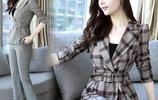 一眼即愛上第一款長袖長褲套裝,買回來果然美,時髦洋氣精緻優雅