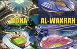 卡塔爾世界盃球場欣賞以及足球漫畫