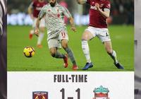 早報:利物浦遭遇聯賽兩連平 穆勒無緣歐冠戰紅軍