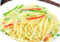 土豆絲,豆瓣醬,西紅柿它們的烹飪技巧