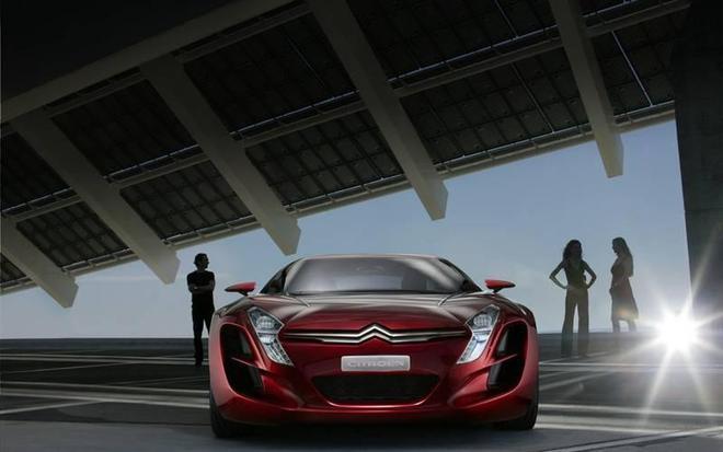 豪車展覽:炫酷汽車高清圖集
