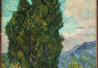 超高清(梵高油畫展作品)100張,強力感受大師的超凡與熱情