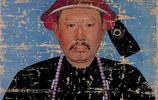 一組乾隆時期的清朝親貴畫像:圖四為蒙古汗王,圖八為紫光閣功臣