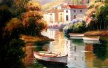 油畫圖集:感受高手畫的油畫