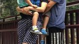 沙溢晒出一家四口遊臺灣的照片,安吉和小魚兒乖巧,媽媽省心了!