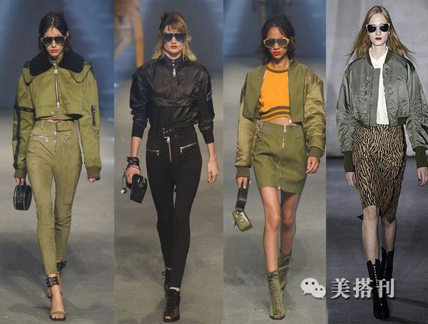 《舒克貝塔》彩色飛行員夾克,新潮時尚