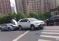 男子開比亞迪去上班,被200萬豪車追尾,看到真相讓他大跌眼鏡