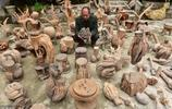 四川一男子,自制100多件根雕,有人出價百萬求購,他為何不賣?