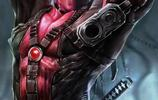 酷炫超級英雄和動漫人物數字藝術