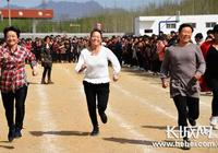 唐山遷安舉辦農民運動會火熱鄉村