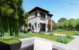 2套小面積別墅設計,歐式別墅與中式別墅,你喜歡哪款?