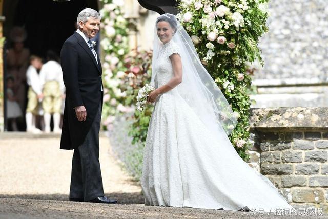 凱特王妃妹妹皮帕的婚禮與姐姐皇室婚禮的對比