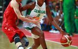 2017年國際女籃對抗賽 中國隊93比67勝塞內加爾