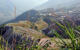 旅遊圖集:天梯一樣的美麗壯觀的廣西龍脊梯田