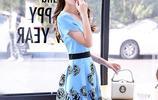 時髦碎花連衣裙,20-38歲女人穿美到冒泡,優雅顯瘦超有氣質