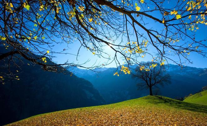 49幅如油畫般美麗的秋景圖片欣賞