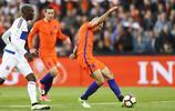 足球——世界盃預選賽:荷蘭大勝盧森堡