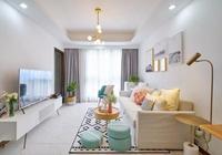 89平米北歐風格婚房,粉色和藍綠色元素打造出清新甜美的小家