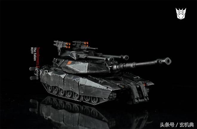 變形金剛:塞伯坦叛逆長老的別樣身材-坦克墮落金剛 改造重塗