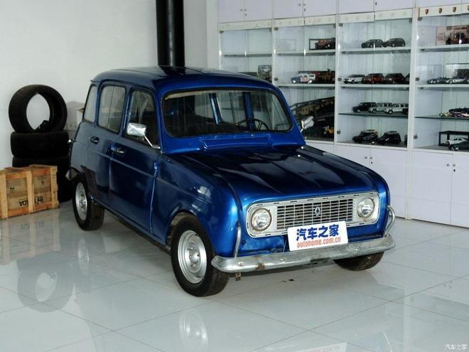 汽車圖集:雷諾4 Luxe