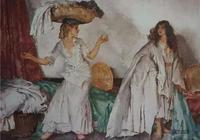水彩大師威廉·盧梭·弗林特,不愧為寫實派的大師,值得收藏
