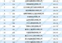 2019年財富中國500強排行榜(化工行業):中泰化學第一