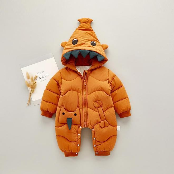 """下面這幾款""""連體衣"""",給寶寶買一件,穿上萌氣十足,特保暖"""