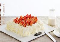 草莓蛋糕|草莓雪域芝士