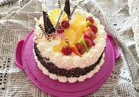 自制水果生日蛋糕