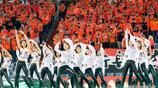 中超開幕式現美女表演者用自己青春傳遞體育精神