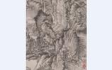"""元代最有名的畫家之一,他的山水畫法被成為""""牛毛皴"""",青卞隱居"""