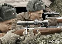 為什麼二戰的電影中經常都是有蘇軍狙擊手呢?