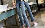 牛仔褲不知道怎麼選?看看下圖的牛仔褲,款款時尚,遮肉又顯高