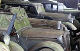 上個世界的汽車廢棄工廠,遺留的百輛豪車引眾人關注