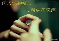 我愛你不是因為你是誰,而是我在你面前可以是誰