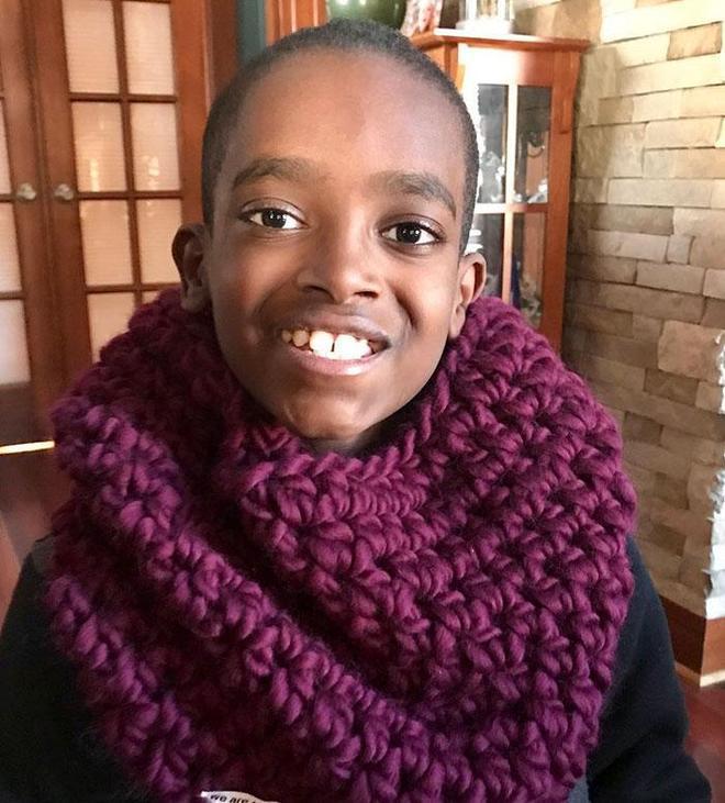 他5歲學會了鉤針編織,11歲被稱為鉤編神童,接全球訂單!