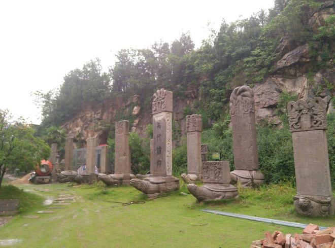 風景圖集:徐州龜山漢墓,氣勢雄偉實為罕見吸引著海內外無數遊人